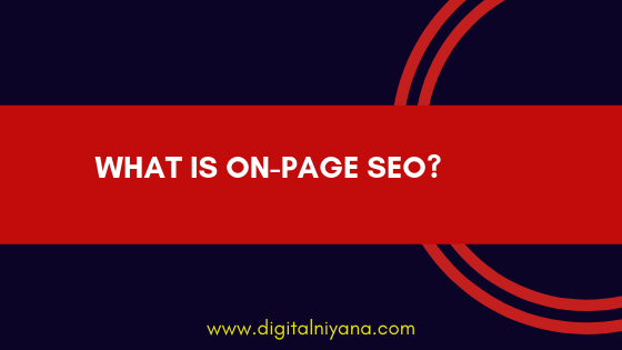 on-page seo digitalniyana